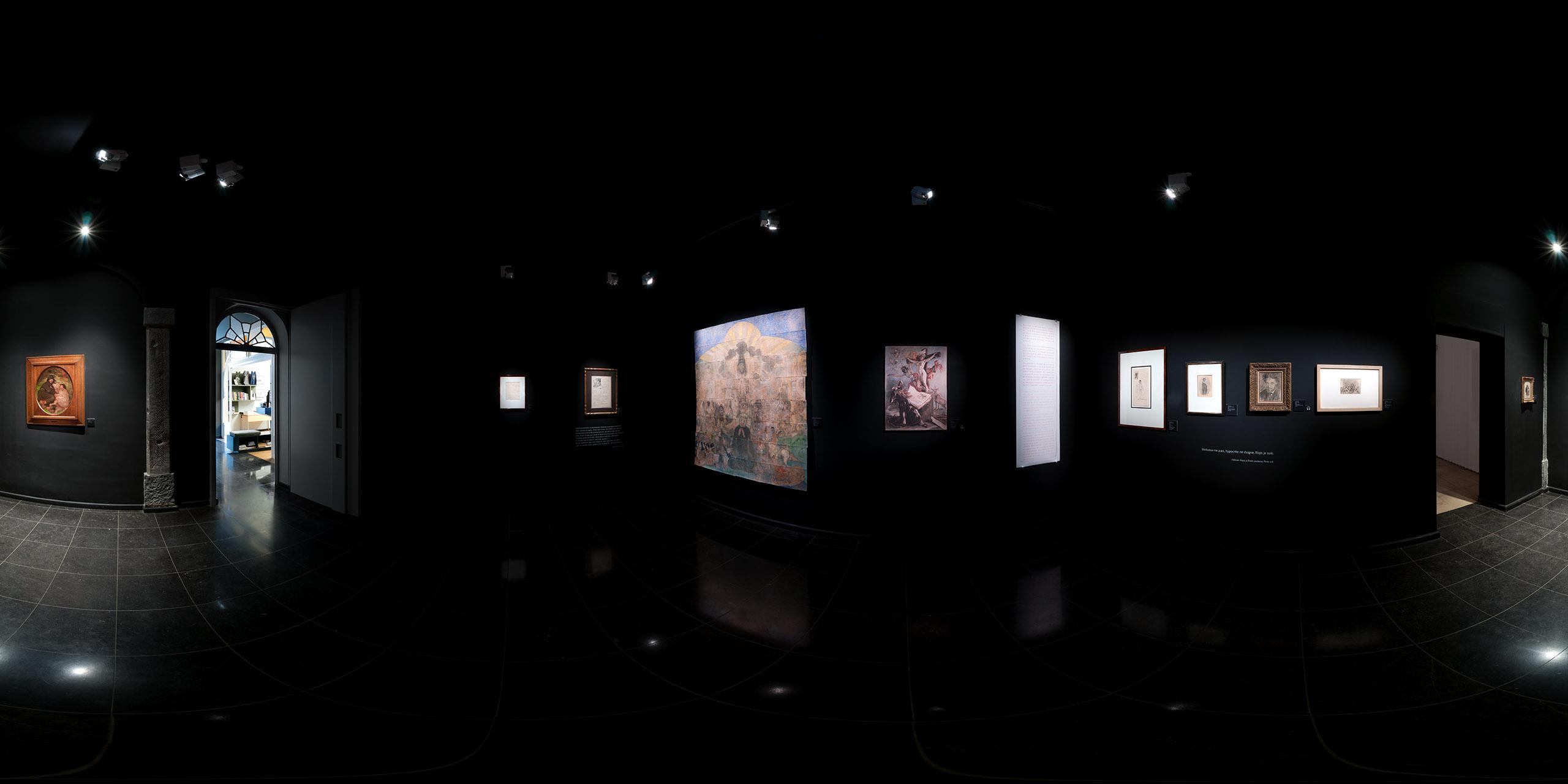 Exposition Vices & vertus / TreM.a • Musée Rops • Eglise Saint-Loup / Salle 01