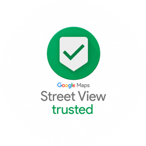 Logo Google Street View Trusted Photographer